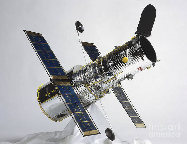 Photograph - Model Of Hubble Space Telescope by Dorling Kindersley