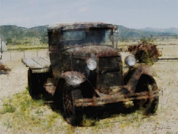 Digital Art - Model T Ford by Gary De Capua