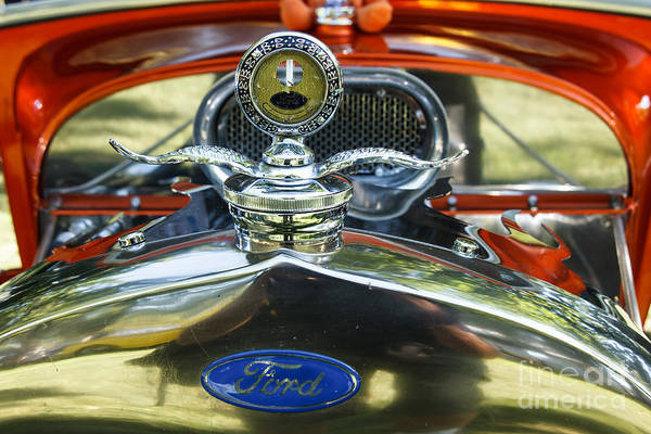 Sliver Photograph - Model T Ford by Robert Bales