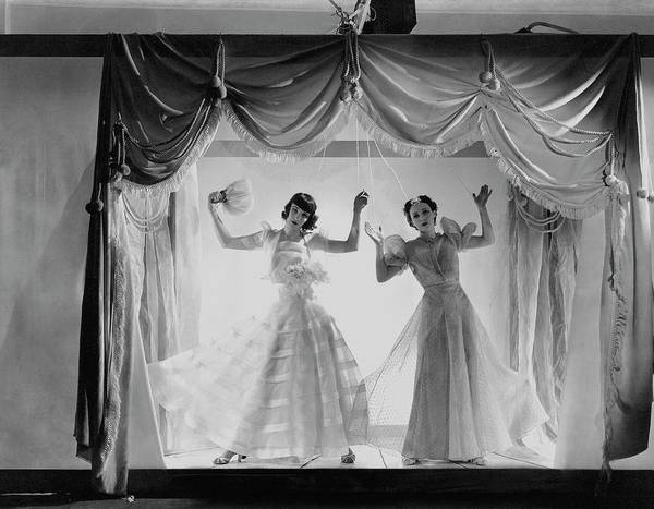 Photograph - Models As Marionettes by Cecil Beaton