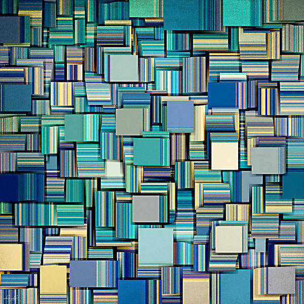 Illusion Digital Art - Modern Abstract Xxiv by Lourry Legarde