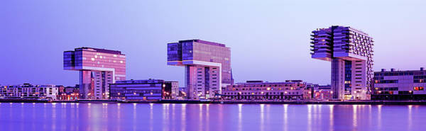 Rhine River Photograph - Modern Architecture In Cologne by Murat Taner