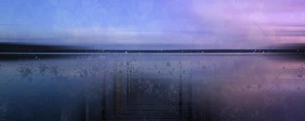 Water Plant Digital Art - Modern-art Finland Beautiful Nature by Melanie Viola