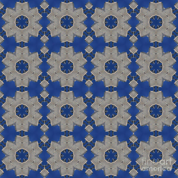 Photograph - Modern Buidlings Into Moroccan Tile 1 by Beverly Claire Kaiya