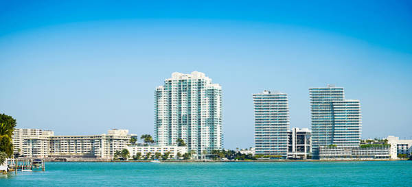 Dade Photograph - Modern Buildings At The Waterfront by Panoramic Images