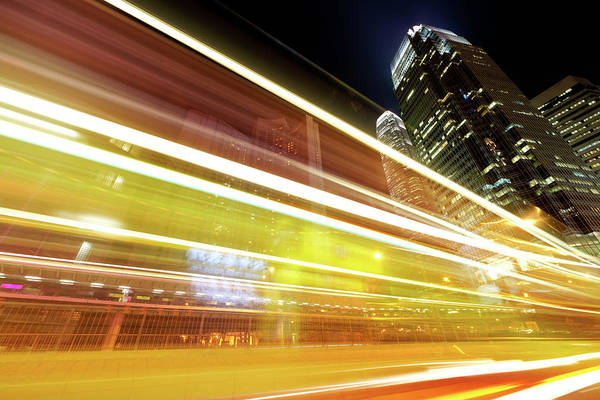 Rush Hour Photograph - Modern City by Vii-photo