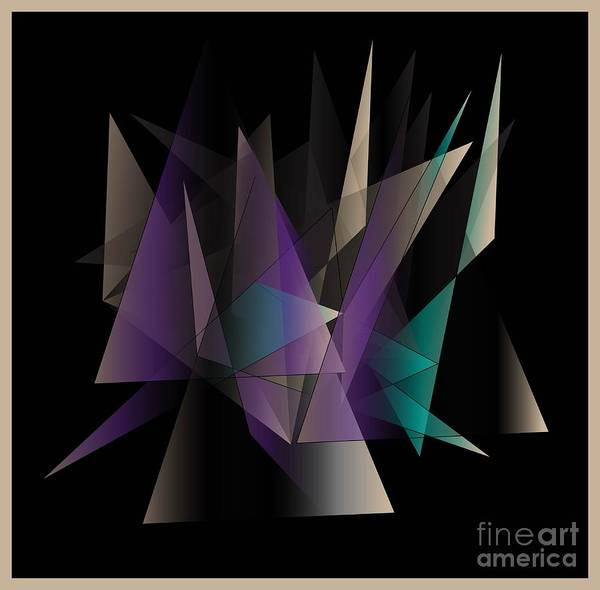 Wall Art - Digital Art - Modern Day by Iris Gelbart