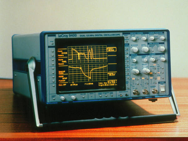 Wall Art - Photograph - Modern Digital Oscilloscope by Sheila Terry, Lecroy/science Photo Library