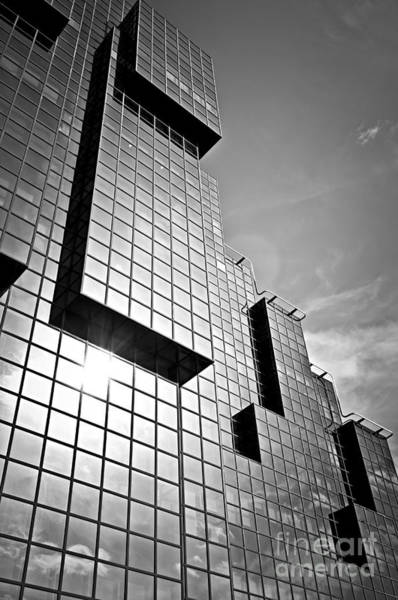 Wall Art - Photograph - Modern Glass Building by Elena Elisseeva