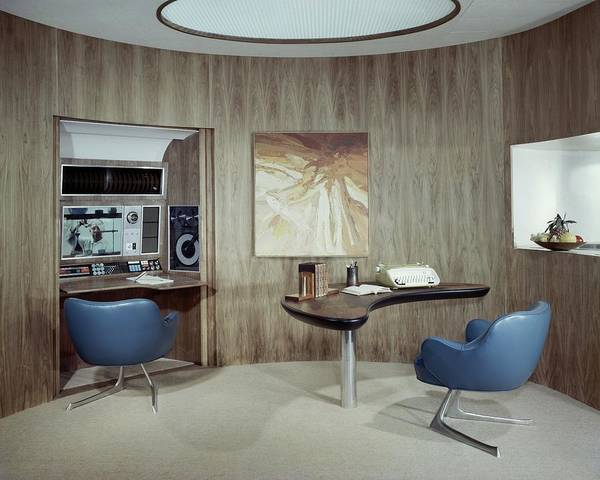Office Furniture Photograph - Modern Home Office by Wiliam Grigsby