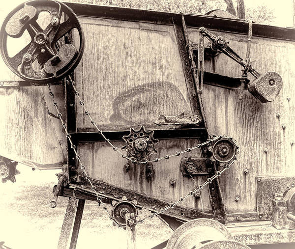 Photograph - Modern Machinery by HW Kateley