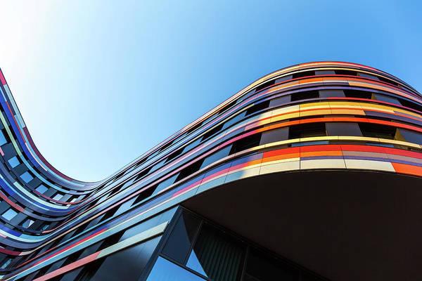 Photograph - Modern Office Architecture by Mf-guddyx