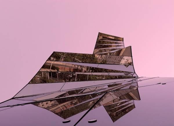 Photograph - Modern Reflections ... by Juergen Weiss