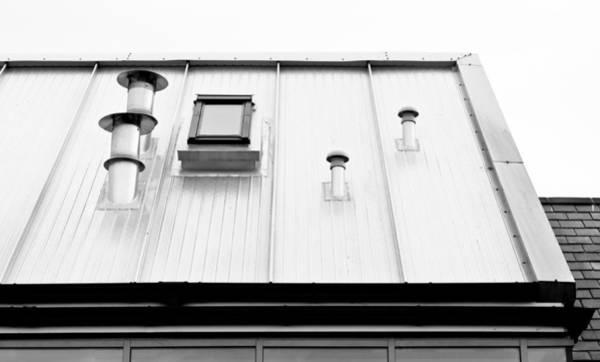 Skylight Photograph - Modern Roof by Tom Gowanlock