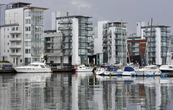 Photograph - Modern Sea Side Apartments by Dreamland Media
