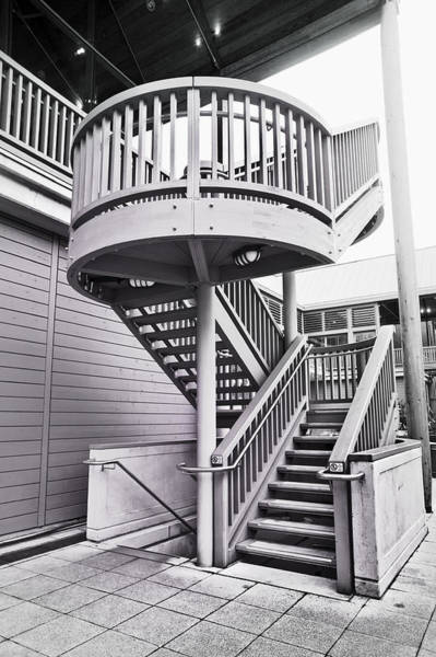 Bannister Wall Art - Photograph - Modern Stairs by Tom Gowanlock