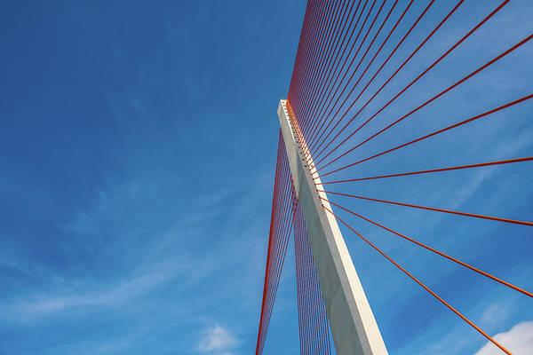 Photograph - Modern Suspension Bridge by Phung Huynh Vu Qui