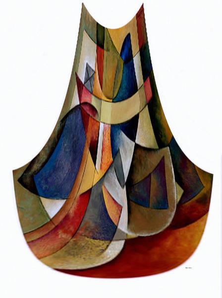 Digital Art - Modern Vase by Rafael Salazar