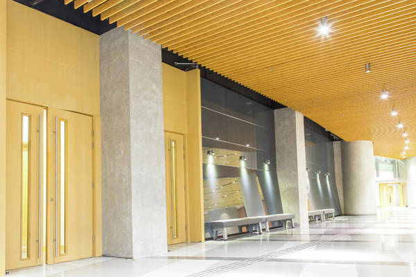 Entrance Photograph - Modern Walkway by Uschools