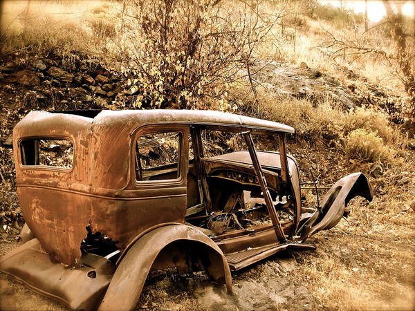 Photograph - Mogollon Truck by Kim Pippinger