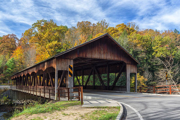 Mohican Photograph - Mohican Covered Bridge by Dale Kincaid