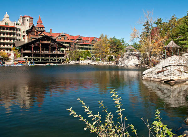 Photograph - Mohonk With Lake by Nancy De Flon