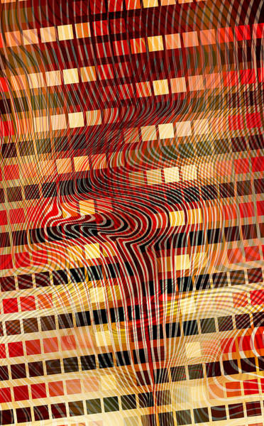 Moire 02052011 Art Print