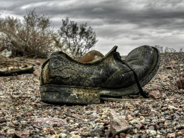 Desolation Photograph - Mojave Hdr 007 by Lance Vaughn