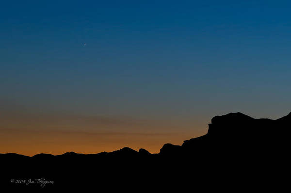Photograph - Mojave Sunset by Jim Thompson