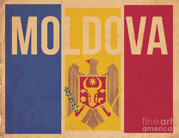 Moldova Wall Art - Digital Art - Moldova by Megan