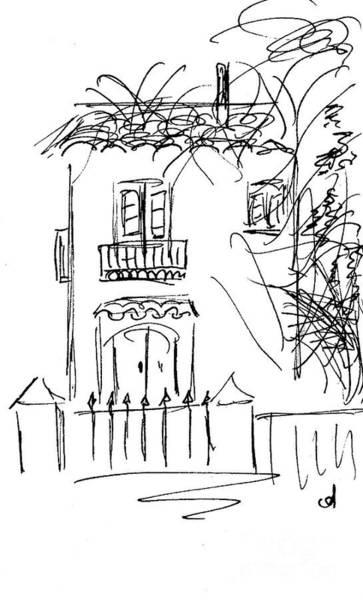 Drawing - Molino De La Boveda by Chani Demuijlder