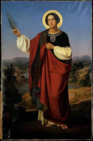 Wall Art - Photograph - Molmenti Pompeo Marino, St Ursula by Everett