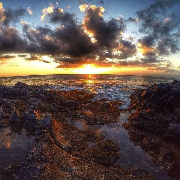 Follow Photograph - Molokai Sunset by Brian Governale
