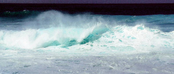 James Temple Photograph - Molokai Surf by James Temple