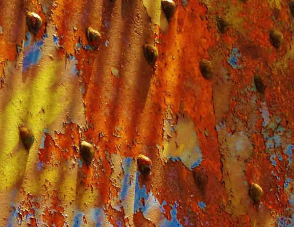 Photograph - Molten Rust 2 by Charles Lucas