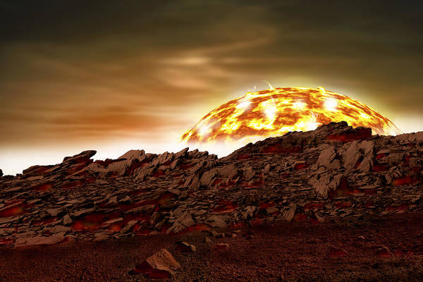 Photograph - Molten Sunrise by Marc Ward