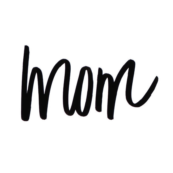 Mom Digital Art - Mom by Sd Graphics Studio