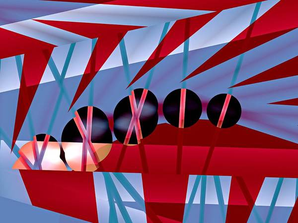 Elation Digital Art - Momentum by Kenneth Keller