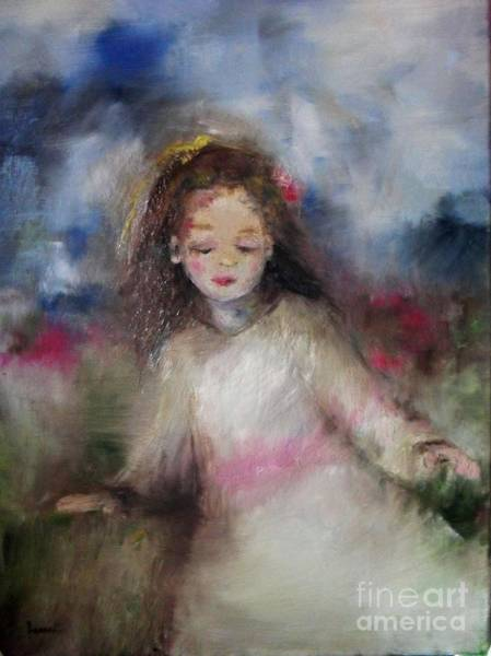 Painting - Mommy's Little Girl by Laurie Lundquist