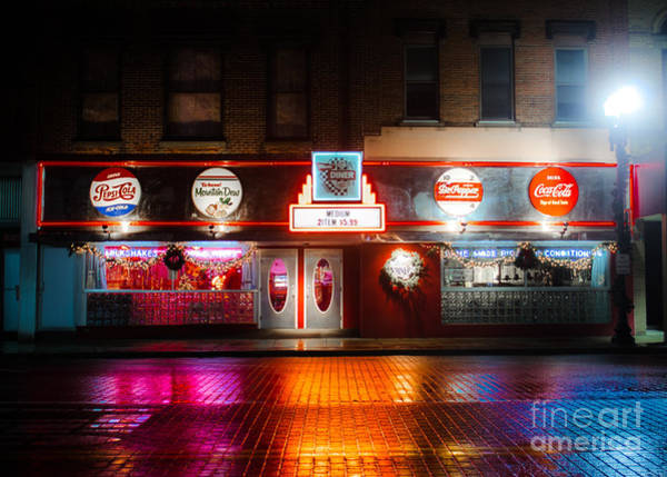 Photograph - Mom's Diner by Michael Arend