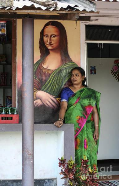 Kerala Mural Photograph - Mona Lisa I by Sonny Marcyan