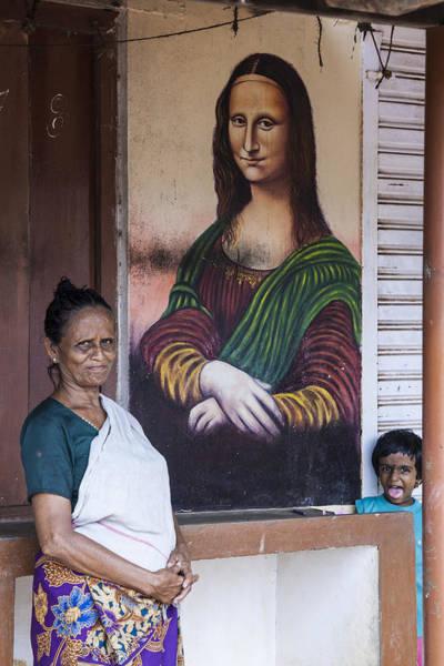 Kerala Mural Photograph - Mona Lisa II by Sonny Marcyan