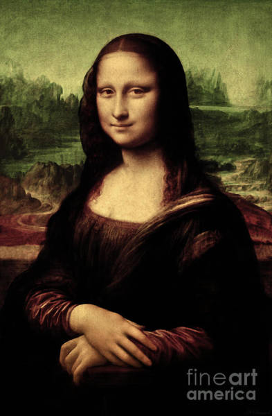 Painting - Mona Lisa Painting by Leonardo da Vinci