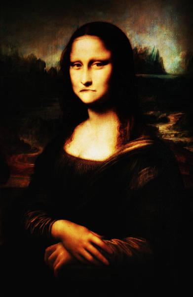 Digital Art - Mona Lisa Take One by Bill Cannon