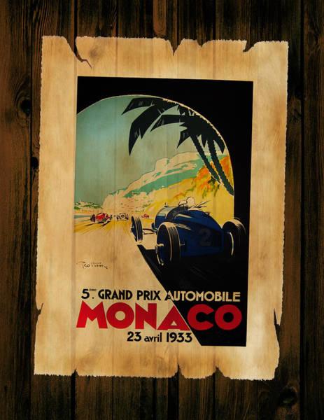 Wall Art - Photograph - Monaco 1933 by Mark Rogan