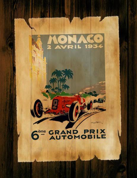 Wall Art - Photograph - Monaco 1934 by Mark Rogan