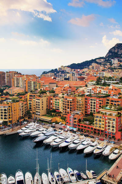 Parking Photograph - Monaco - Exclusive Parking by John And Tina Reid