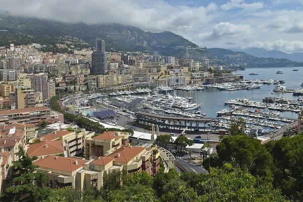 Photograph - Monaco Harbor by Allen Sheffield