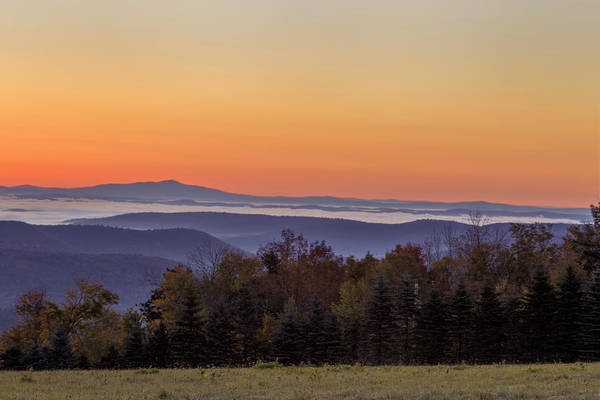 Photograph - Monadnock From Vermont by Tom Singleton
