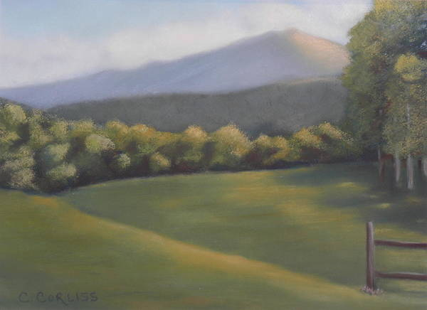 Pastel - Monadnock Gold by Carol Corliss